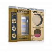 Physicians Formula Makeup Set 8658: 1x Shimmer Strips Eye Enhancing Shadow, 1x CoverToxTen50 Face Powder, 1x Applicator 3pcs