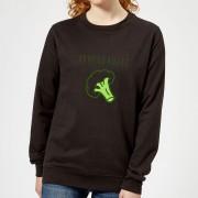 By IWOOT Broccoholic Dames Trui - Zwart - 3XL - Zwart
