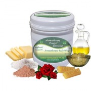 ecoplanet Aromatherapy Body Wrap Rose 1 Kg Soft Smooth and Radiant Skin