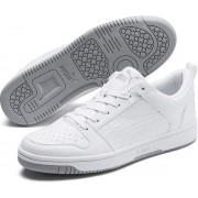 PUMA Rebound LayUp Lo SL Unisex Sneakers - Puma White-High Rise - Maat 41