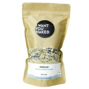 I WANT YOU NAKED Aroma-Bad Brennnessel & Ingwer REFILL Badezusatz 580g