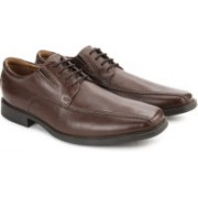 Clarks Tilden Walk Men Genuine Leather Lace Up shoes For Men(Brown)