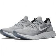 Niike Epic React Flyknit Gray Running Shoe