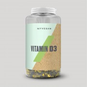 Myprotein Vegan Vitamin D3 Softgels - 60capsules