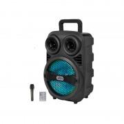 Boxa portabila Bluetooth S8 Karaoke, telecomanda + microfon, 43 cm inaltime