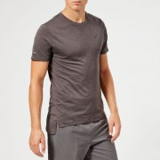 Asics Men's Seamless Short Sleeve Top - Dark Grey Heather - S - Grey