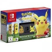 Конзола Nintendo Switch Console + Pokemon: Let's Go Pikachu! + Pokeball Plus Controller