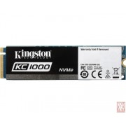 Kingston 480GB KC1000, M.2 2280 NVMe, 2700/1600MB/s (SKC1000/480G)