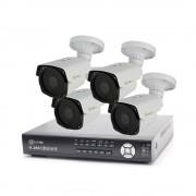 Kit videosorveglianza 5 mpx ahd 4 canali 4 telecamre varifocali, spazio disco 2 tb