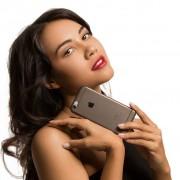Caseual Flexo Slim Skal Till iPhone 6 Svart