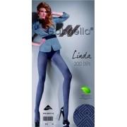 Gabriella Elegant strumpbyxa med geometriskt mönster Linda 200 DEN grafit 4