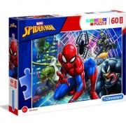 Puzzle Clementoni SuperColor Maxi: Marvel Spider-man, 60 piese