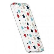 Husa Silicon Transparent Slim Star 146 Apple iPhone 5 5S SE