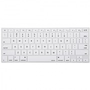 Mosiso - Keyboard Cover Silicone Skin for MacBook Air 13 and MacBook Pro 13 15 17 (with or w/out Retina Display) iMac -White