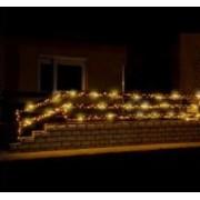 Kültéri LED fényfüzér 35 m 500 db hideg fehér LED KKL 500FWW