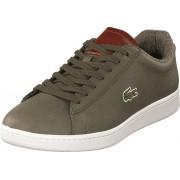 Lacoste Carnaby Evo 318 2 Khk/brw, Skor, Sneakers & Sportskor, Låga sneakers, Brun, Herr, 44