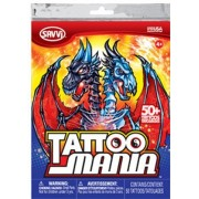 Tattoo Mania 2011(50 Temporary Tattoos)