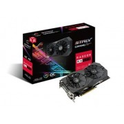 VGA ASUS RX570 OC 4GB DDR5 2xDVI/HDMI/DP - ROG-STRIX-RX570-O4G-GAMING