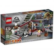 LEGO Jurassic World urmarirea velociraptorului din Jurassic Park 75932