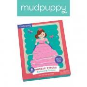 Mudpuppy Puzzle Patyczki Księżniczki 24 elementy 3+,