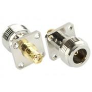 NTR CON97 SMA aljzat - N aljzat adapter