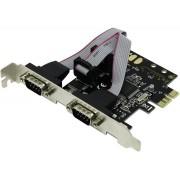 BestConnection PCI-Express kártya Soros 2 port FG-EMT03C-1-BC01