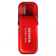 USB Kľúč 32GB ADATA UV240 USB red (vhodné pre potlač)