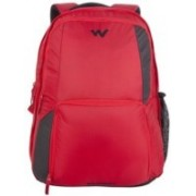Wiki by Wildcraft Geek 3.0 Red Laptop Backpacks 25.812 L Backpack(Red)