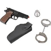 Set Pistoale Politie - 8 capse - GH425/6