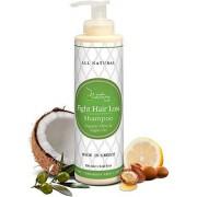 "Nature Lush Organic Argan Anti-Hair Loss Shampoo with Rich Vitamins â€"" Sulfate Free & Rich Saw Palmetto DHT Hair Root Treatment â€"" For Men & Women 100% Pure, Natural â€"" All Hair Types (250 ml)"