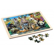 Puzzle lemn Exotic Wildlife