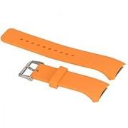Samsung Gear S2 SM-R720 Watch Band Coloful Replacement Sport Band Strap Wristbanb For Samsung Galaxy Gear S2 SM-R720 Smart Watch (No Watch) (Orange)