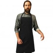 Geen Zwart barbecue keukenschort voor volwassenen - Action products