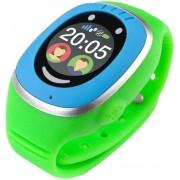 "Smartwatch MyKi Touch, Display OLED 1.22"", Wi-Fi, 3G, dedicat pentru copii (Albastru/Verde)"