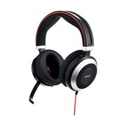 Jabra EVOLVE 80 Wired Over-the-head Stereo Headset