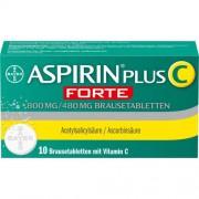 Bayer ASPIRIN plus C forte 800 mg/480 mg Brausetabletten 10 St