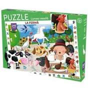 Puzzle Lumea vesela - La ferma, 240 piese