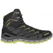Lowa Aerox GTX Mid - scarpe da trekking - uomo - Black/Yellow