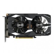 Видео карта Nvidia GeForce GTX 1660 Ti, 6GB, Asus DUAL-GTX1660TI-O6G, PCI-E, GDDR6, 192-bit, DisplayPort, HDMI, DVI
