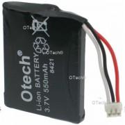 Otech Batterie de téléphone pour Philips ID555 3.7V 500mAh Li-Ion