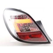 FK-Automotive feux arrière modèle LED Opel Corsa D 5-pt. année 06-10 chrome