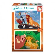 Puzzle The lion king, 2 x 48 piese