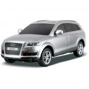 Audi Q7 cu Telecomanda Scara 1 24 Gri