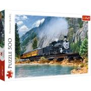 Trefl Puzzle Slagalica Mountain train 500 kom (37379)