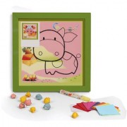 Baby Oodles Cow Diy 3D Paper Craft Wall Hanging For Kids