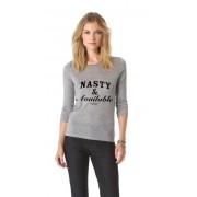 Bluza Nasty & Available - Gri