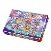 Puzzle Trefl 10 in 1, Aventurile Enchantimals, 329 piese