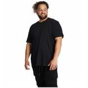 Johnny Bigg Big amp Tall Essential Crew Neck Tee Black
