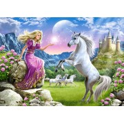Puzzle Castorland - My Friend Unicorn, 180 Piese