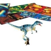 Lot Of 12 Assorted 3 D Mini Dinosaur Plastic Puzzles